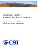 Consumer's Guide to Medicare Supplement Insurance