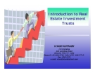 Introduction to Real  Estate Investment  Trusts