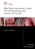 Real Estate Investment Trusts: The US Experience and Lessons for the UK