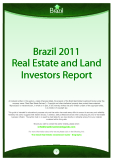 Brazil 2011 Real Estate and Land Investors Report