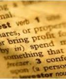 Glossary of Commercial Investment Real Estate Terms