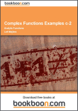 Complex Functions Examples c-2 Analytic Functions