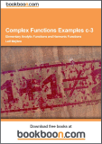 Complex Functions Examples c-3 Elementary Analytic Functions and Harmonic Functions