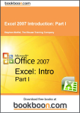 Excel 2007 Introduction Part I