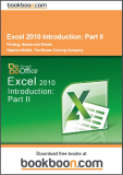 Excel 2010 Introduction Part II