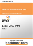 Excel 2003 Introduction Part I