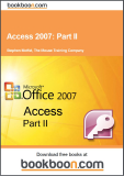 Access 2007 Part II