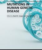 MUTATIONS IN HUMAN GENETIC DISEASE