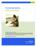 Investing basics Getting started