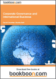 Corporate Governance and International Business