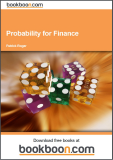 .Probability for FinancePatrick Roger Strasbourg University, EM Strasbourg Business School May