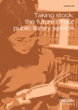 Taking stock: the future of our  public library service
