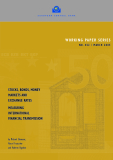 STOCKS, BONDS, MONEY MARKETS AND  EXCHANGE RATES MEASURING  INTERNATIONAL  FINANCIAL TRANSMISSION