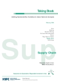 Adding Sustainability Variables to Asian Sectoral Analysis