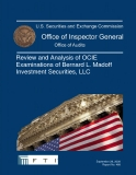 Review and Analysis of OCIE  Examinations of Bernard L. Madoff  Investment Securities, LLC
