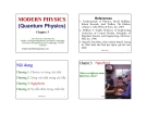 MODERN PHYSICS (Quantum Physics) Chapter 3