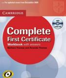 Complete First Certificate Workbook with Answers
