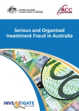 Serious and Organised Investment Fraud in Australia