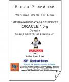 BUILDING ORACLE 10g DATABASE SERVER WITH ORACLE ENTERPRISE LINUX