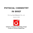 PHYSICAL CHEMISTRY IN BRIEF