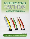 Mathematics in Action Algebraic, Graphical, and Trigonometric Problem Solving Fourth Edition