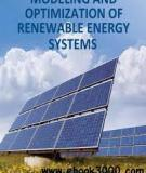 Sách: MODELING AND OPTIMIZATION OF RENEWABLE ENERGY SYSTEMS