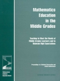 Mathematics Education in the Middle Grades