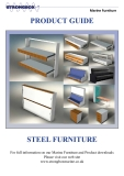 PRODUCT GUIDE: For full information on our Marine Furniture and Product downloads