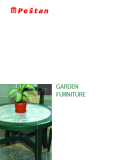 Garden furniture material: POLIPROPILEN
