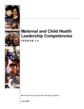 Maternal and Child Health  Leadership Competencies
