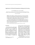 "Báo cáo "" Application of fed-batch fermentation in high-gravity brewing """