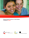 Mental Health Practices in Child Welfare Guidelines Toolkit