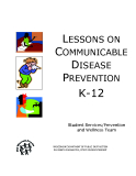 LESSONS ON COMMUNICABLE DISEASE  PREVENTION K-12