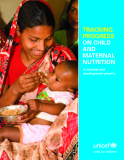 TRACKING PROGRESS ON CHILD AND MATERNAL NUTRITION