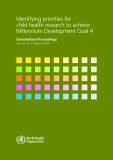 Identifying priorities for child health research to achieve Millennium Development Goal 4