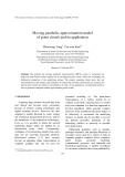 "Báo cáo ""  Moving parabolic approximation model of point clouds and its application """
