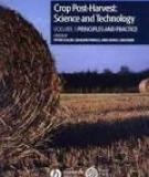 Crop Post-Harvest: Science and Technology Volume 1 Principles and Practice