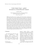 "Báo cáo "" North Atlantic Treaty - a global document in a Critical Discourse Analysis """