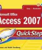 Microsoft Offcie Access 2007 Quick Steps