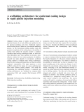 A scaffolding architecture for conformal cooling design in rapid plastic injection moulding