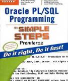 Oracle PL/SQL Programming in Simple Steps