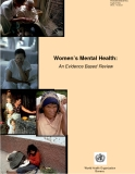 Women's Mental Health: An Evidence Based Review