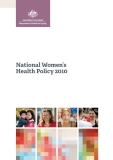 National Women's  Health Policy 2010