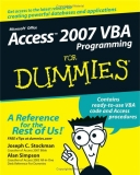 Access 2007 VBA Programming