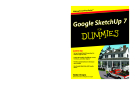 Wiley Google SketchUp 7 for Dummies