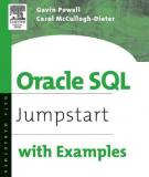 Oracle SQL Jumpstart with Examples