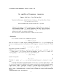 "Báo cáo ""On stability of Lyapunov exponents """
