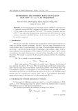 """Báo cáo """" DETERMINING THE ISOMERIC RATIO OF NUCLEAR REACTION 46 Ti (γ, pn)44 Sc BY EXPERIMENT  """""""