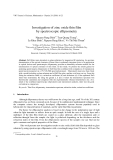 "Báo cáo ""Investigation of zinc oxide thin film by spectroscopic ellipsometry """