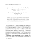 """Báo cáo """" Synthesis and thermoelectric properties of La(Fe1-xSix)13 compounds (x = 0.12, 0.14 and 0.15) """""""